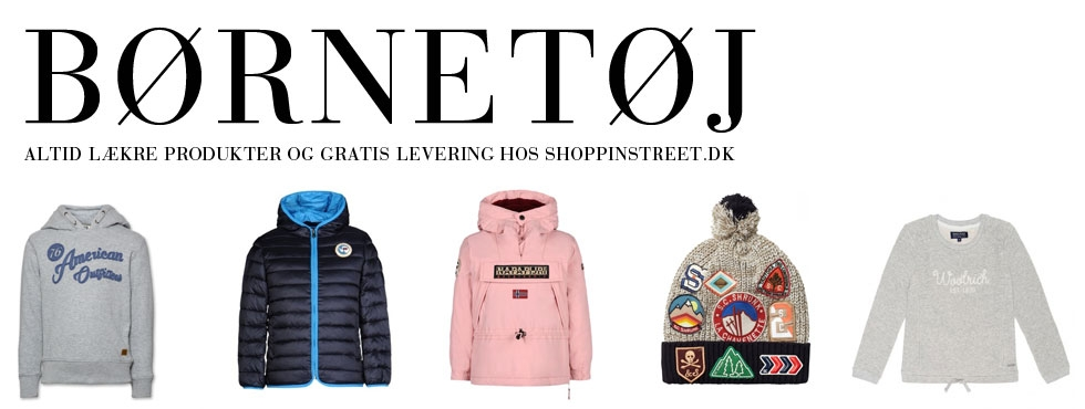 Børnetøj - tøj og sko Nørrebro butikker shopping street- shoppinstreet.dk - ShoppinStreet.dk
